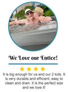 hot tub review Entice