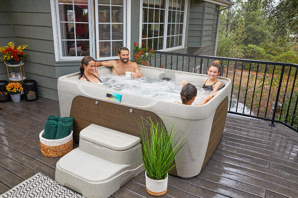 The whole family can enjoy quality time together in a Fantasy Spa.